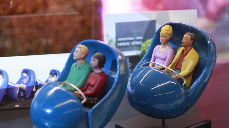atommobiles in Disneyland